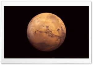 Mars The Red Planet HD Wide Wallpaper for Widescreen