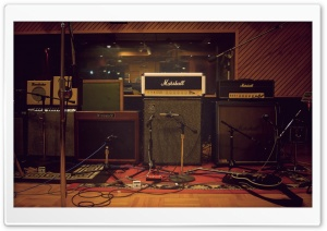 Marshall Speakers HD Wide Wallpaper for Widescreen