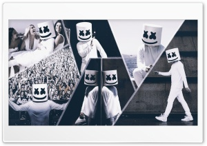 Marshmello HD Wide Wallpaper for 4K UHD Widescreen desktop & smartphone