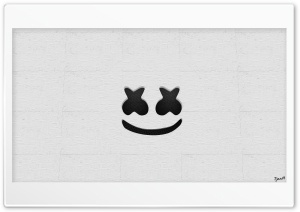 Marshmello Logo Ultra HD Wallpaper for 4K UHD Widescreen desktop, tablet & smartphone