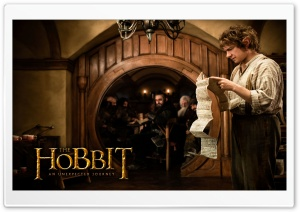 Martin Freeman as Bilbo Baggins in The Hobbit An Unexpected Journey HD Wide Wallpaper for Widescreen
