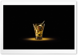 Martini Gold HD Wide Wallpaper for Widescreen