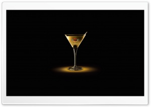 Martini Gold Finger HD Wide Wallpaper for Widescreen