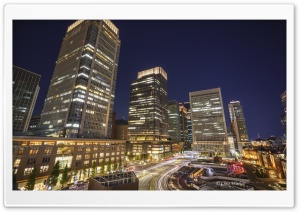 Marunouchi, Buildings, Tokyo HD Wide Wallpaper for 4K UHD Widescreen desktop & smartphone