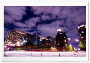 Marunouchi, Tokyo HD Wide Wallpaper for Widescreen