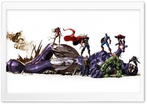 Marvel HD Wide Wallpaper for 4K UHD Widescreen desktop & smartphone