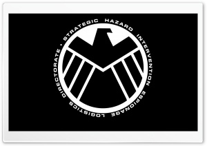 Marvel - The Avengers Shield Logo HD Wide Wallpaper for Widescreen