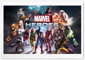 Marvel Heroes Game 2014 HD Wide Wallpaper for Widescreen