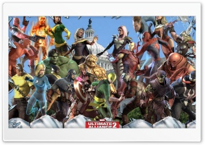 Marvel Ultimate Alliance 2 HD Wide Wallpaper for Widescreen
