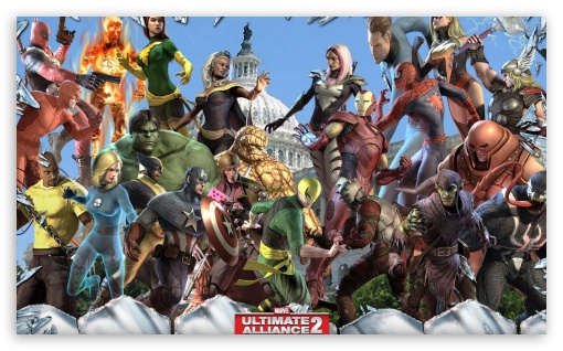 Marvel Ultimate Alliance 2 ❤ 4K UHD Wallpaper for Wide 5:3 Widescreen WGA ; 4K UHD 16:9 Ultra High Definition 2160p 1440p 1080p 900p 720p ; Mobile 5:3 16:9 - WGA 2160p 1440p 1080p 900p 720p ;