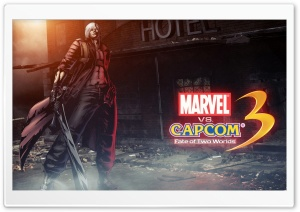 Marvel vs Capcom 3 - Dante HD Wide Wallpaper for 4K UHD Widescreen desktop & smartphone