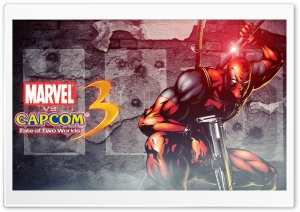 Marvel vs Capcom 3 - Deadpool HD Wide Wallpaper for 4K UHD Widescreen desktop & smartphone