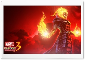 Marvel vs Capcom 3 - Dormammu HD Wide Wallpaper for Widescreen