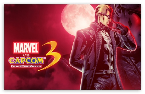 Download Marvel vs Capcom 3 - Wesker UltraHD Wallpaper