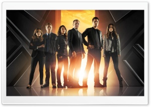Marvel's Agents of SHIELD Cast HD Wide Wallpaper for Widescreen