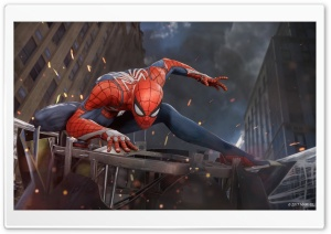 Marvels Spider-Man PS4 E3 2017 HD Wide Wallpaper for 4K UHD Widescreen desktop & smartphone