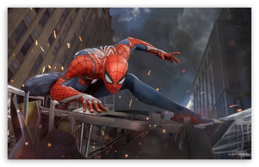 Marvels Spider Man Ps4 E3 2017 Ultra Hd Desktop Background