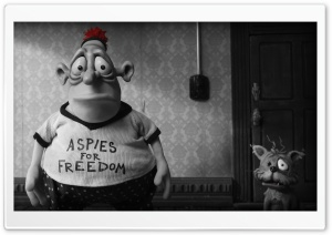 Mary And Max Plasticine HD Wide Wallpaper for Widescreen