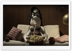Mary And Max Spaghetti HD Wide Wallpaper for Widescreen