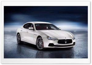 Maserati Ghibli - 2014 HD Wide Wallpaper for 4K UHD Widescreen desktop & smartphone