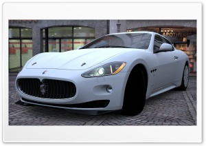 Maserati GranTurismo HD Wide Wallpaper for 4K UHD Widescreen desktop & smartphone