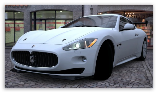 Maserati GranTurismo HD wallpaper for HD 16:9 High Definition WQHD QWXGA 1080p 900p 720p QHD nHD ; UHD 16:9 WQHD QWXGA 1080p 900p 720p QHD nHD ; Mobile 16:9 - WQHD QWXGA 1080p 900p 720p QHD nHD ;