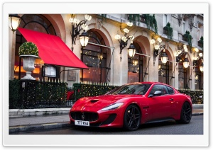 Maserati Granturismo HD Wide Wallpaper for Widescreen