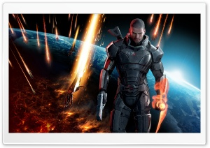 Mass Effect HD Wide Wallpaper for Widescreen