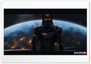 Mass Effect 3 HD Wide Wallpaper for 4K UHD Widescreen desktop & smartphone
