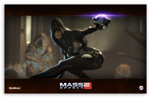 Mass Effect 2 Kasumi Goto HD wallpaper for Wide 16:10 5:3 Widescreen WHXGA WQXGA WUXGA WXGA WGA ; Mobile 5:3 - WGA ;