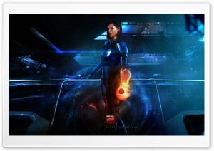 Mass Effect 3 Art HD Wide Wallpaper for Widescreen