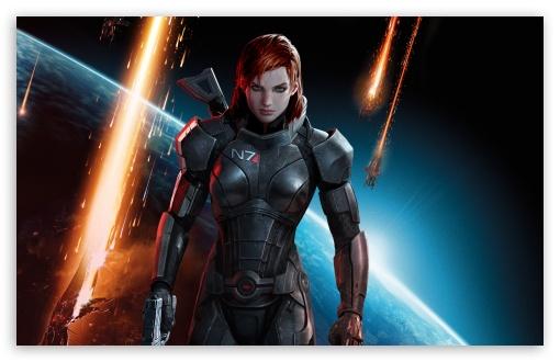 Mass Effect 3 Commander Shepard Female Ultra Hd Desktop