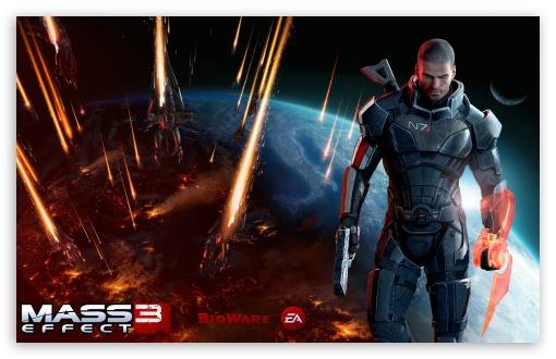 Mass Effect 3 Commander Shepard Male Ultra Hd Desktop