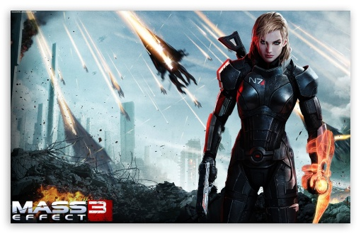 mass effect 3 female shepard 4k hd desktop wallpaper for. Black Bedroom Furniture Sets. Home Design Ideas