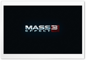 Mass Effect 3 Logo HD Wide Wallpaper for Widescreen