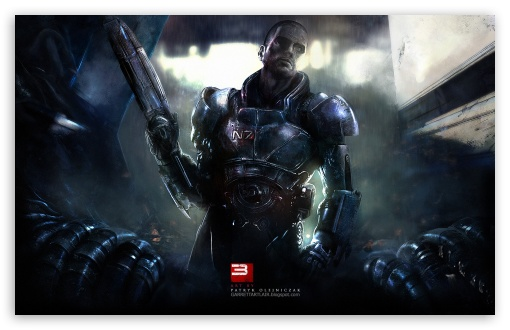 Download Mass Effect 3 Teaser UltraHD Wallpaper