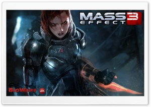 Mass Effect 3 Video Game HD Wide Wallpaper for Widescreen