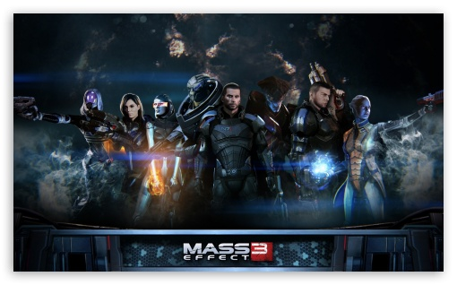 Mass Effect 3 HD wallpaper for Wide 5:3 Widescreen WGA ; HD 16:9 High Definition WQHD QWXGA 1080p 900p 720p QHD nHD ; Mobile 5:3 16:9 - WGA WQHD QWXGA 1080p 900p 720p QHD nHD ;