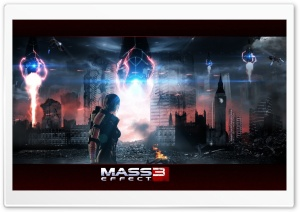Mass Effect 3 HD Wide Wallpaper for Widescreen