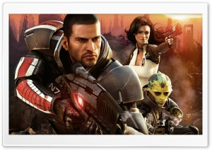 Mass Effect 2 HD Wide Wallpaper for Widescreen