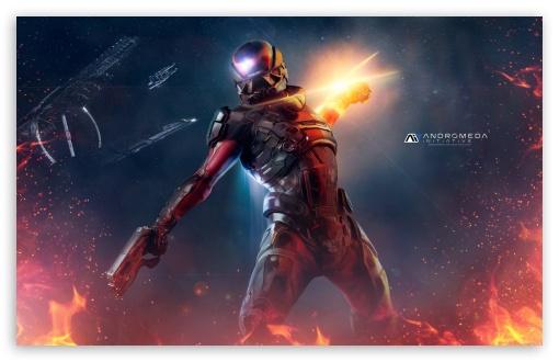 Mass Effect Andromeda Wallpaper Iphone: Mass Effect Andromeda 2017 4K HD Desktop Wallpaper For 4K