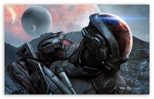 Mass Effect Andromeda Wallpaper Iphone: Mass Effect Andromeda N7 Video Game 2017 4K HD Desktop