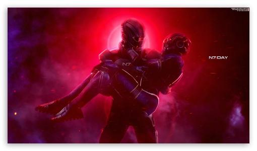 Mass Effect, Ashley and Shepard, Video Game UltraHD Wallpaper for 8K UHD TV 16:9 Ultra High Definition 2160p 1440p 1080p 900p 720p ; UHD 16:9 2160p 1440p 1080p 900p 720p ; Mobile 16:9 - 2160p 1440p 1080p 900p 720p ;