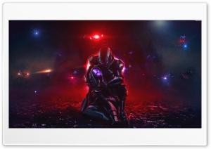 Mass Effect Trilogy, Shepard and Tali, Video Game Ultra HD Wallpaper for 4K UHD Widescreen desktop, tablet & smartphone