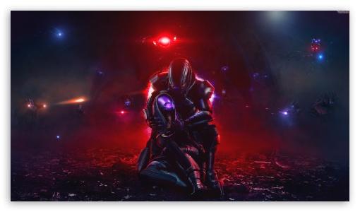 Mass Effect Trilogy, Shepard and Tali, Video Game UltraHD Wallpaper for 8K UHD TV 16:9 Ultra High Definition 2160p 1440p 1080p 900p 720p ; UHD 16:9 2160p 1440p 1080p 900p 720p ; Mobile 16:9 - 2160p 1440p 1080p 900p 720p ;