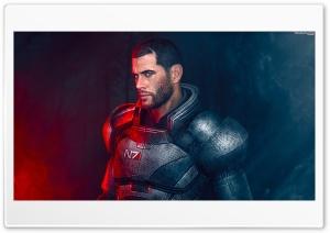 Mass Effect Trilogy Shepard N7 Video Game Ultra HD Wallpaper for 4K UHD Widescreen desktop, tablet & smartphone