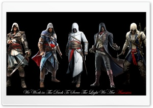 Master Assassins HD Wide Wallpaper for Widescreen