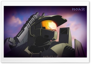 Master Chief HD Wide Wallpaper for Widescreen
