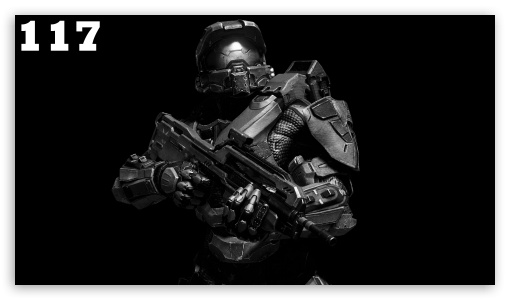 Master Chief BW HD wallpaper for HD 16:9 High Definition WQHD QWXGA 1080p 900p 720p QHD nHD ; Mobile 16:9 - WQHD QWXGA 1080p 900p 720p QHD nHD ;