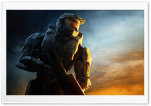 Master Chief, Halo Game HD Wide Wallpaper for Widescreen
